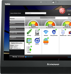 Lenovo Solution Center (monitor not included)