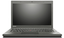 Lenovo Thinkpad T440 (front view)
