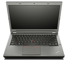 Lenovo Thinkpad T440p Laptop (open front view)