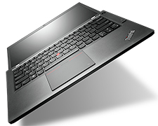 Lenovo Thinkpad T440s Laptop (open flat view)