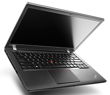 Lenovo Thinkpad T440s Laptop (open left view)